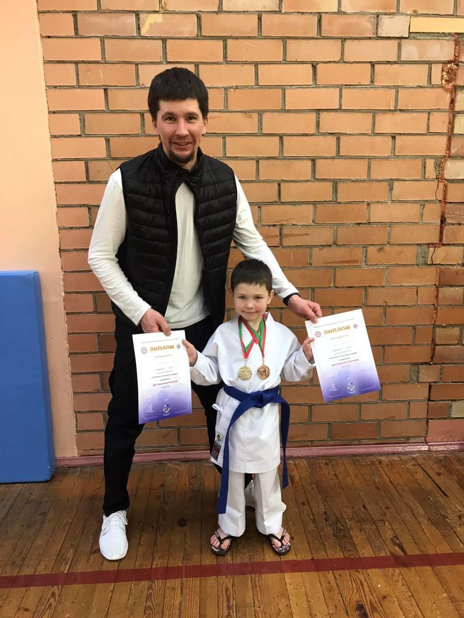 Бобруйчане — призеры ХV первенства Молодежного общественного объединения «Спортивный клуб каратэ «Адамант»
