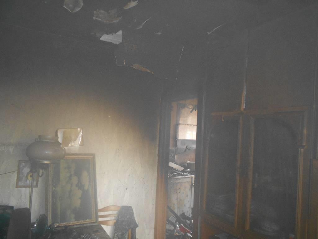 В Бобруйске на Горького горела квартира
