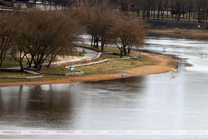 В нескольких реках Могилевской области суточный рост уровня воды достигает 21 см