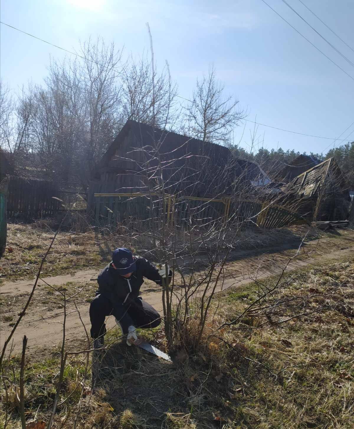 Как прошел субботник в Бобруйском районе. Фоторепортаж