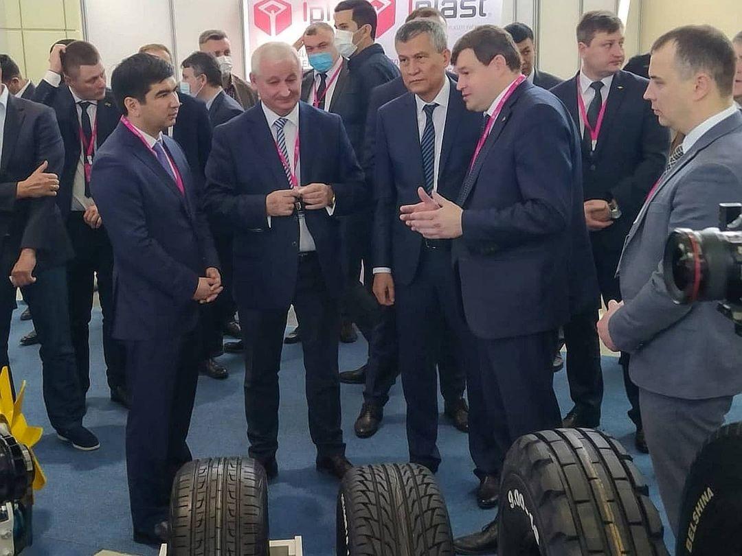 ОАО «Белшина» приняло участие международной промышленной выставке в Ташкенте