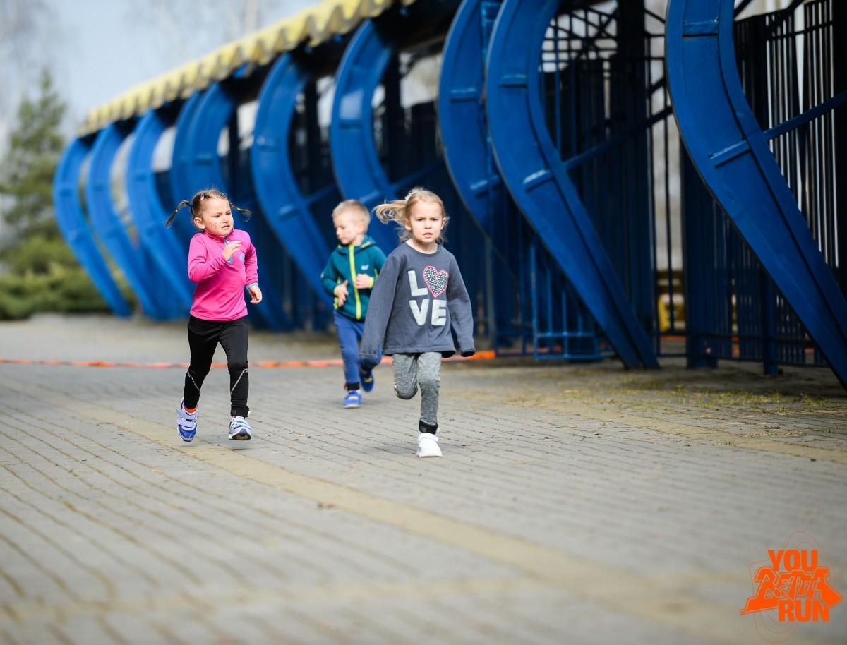 Маленькие бобруйчанки — чемпионки соревнований в марафонских гонках по пересеченной местности
