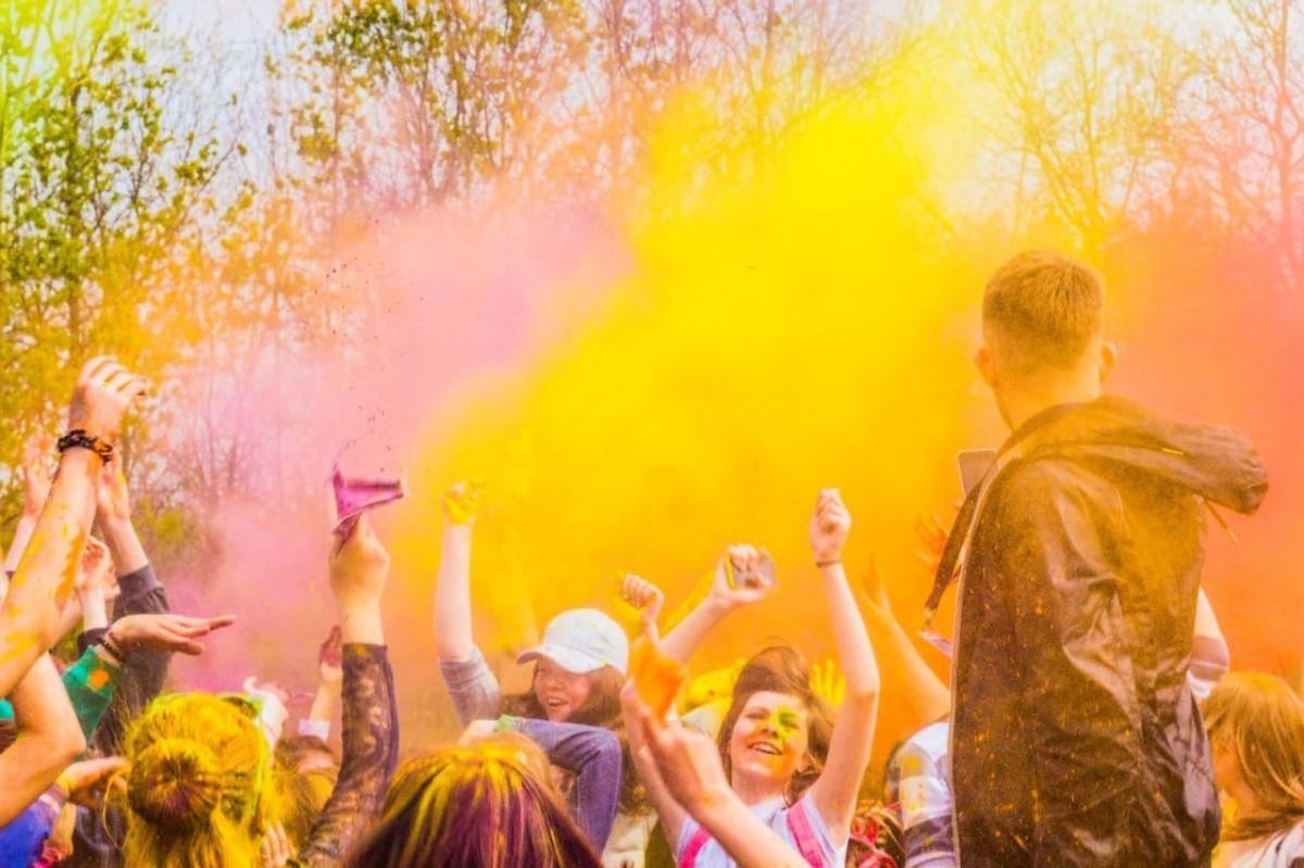 В Бобруйске 1 мая пройдет Фестиваль красок