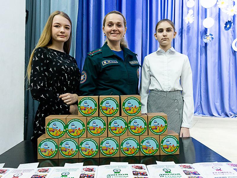 В Бобруйске прошло награждение победителей конкурсов «Спасатели глазами детей» и «Школа безопасности - 2021»