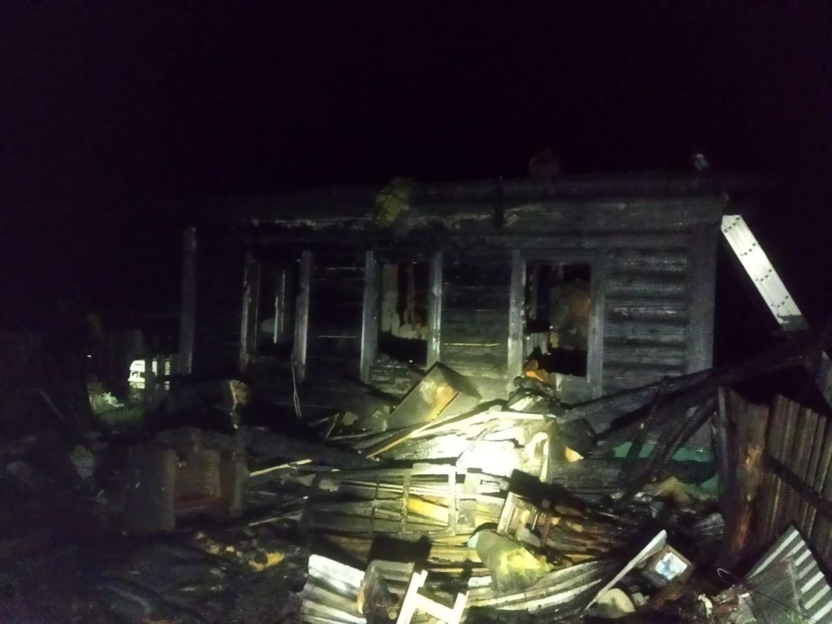 В Бобруйском районе при пожаре в жилом доме погибла хозяйка