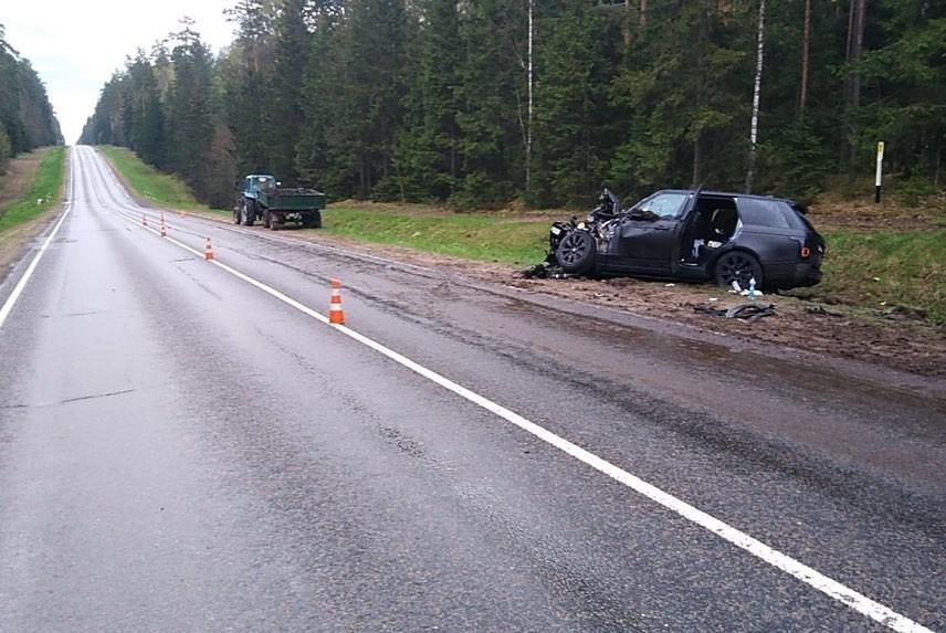 В ДТП на автодороге Могилев-Бобруйск пострадали два ребенка