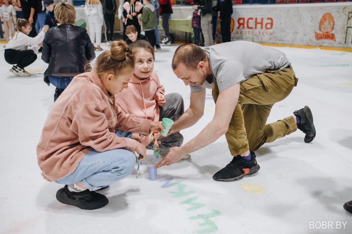 """СК """"Бобруйск-Арена"""" провел заключительное массовое катание перед закрытием сезона"""