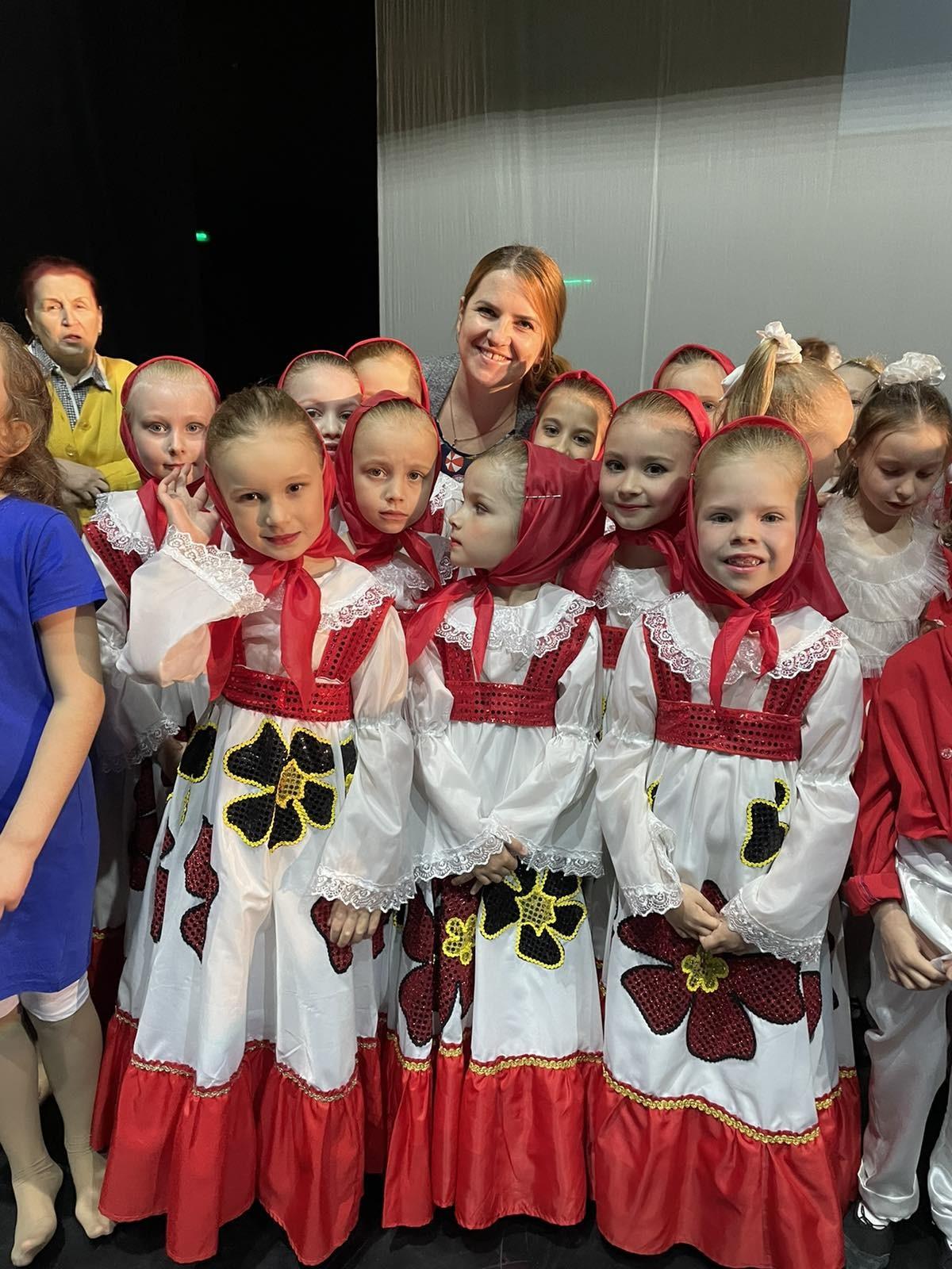 Ансамбль танца «Кукушечка» принял участие в конкурсе M&DANCE Bobruisk