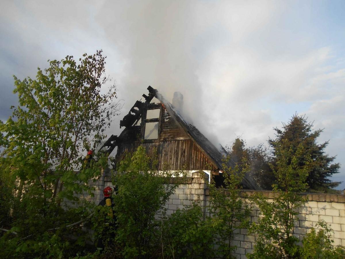 На Мопра горела баня. Вероятная причина – непотушенные угли.