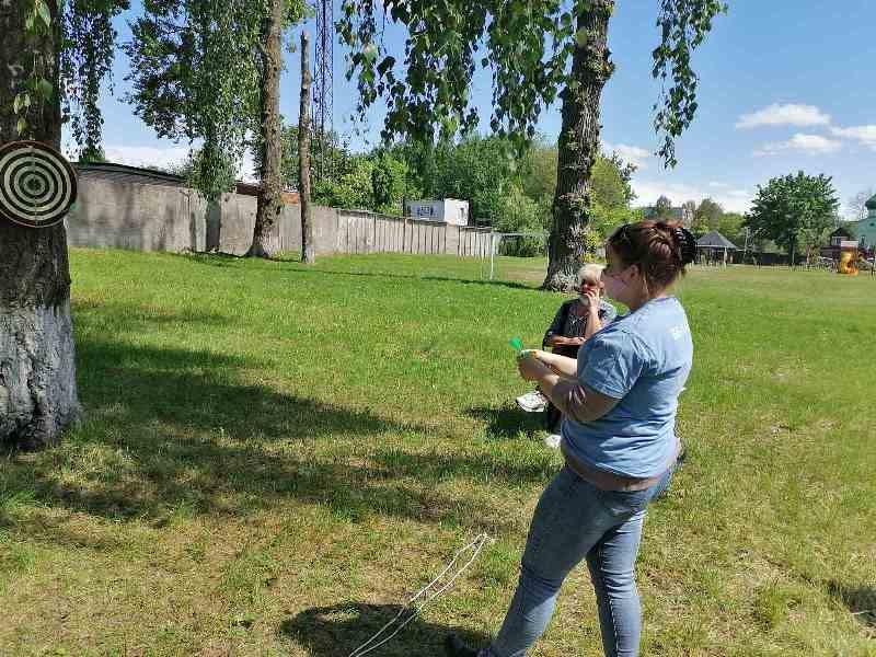 В Бобруйске прошли соревнования по дартсу среди людей с инвалидностью
