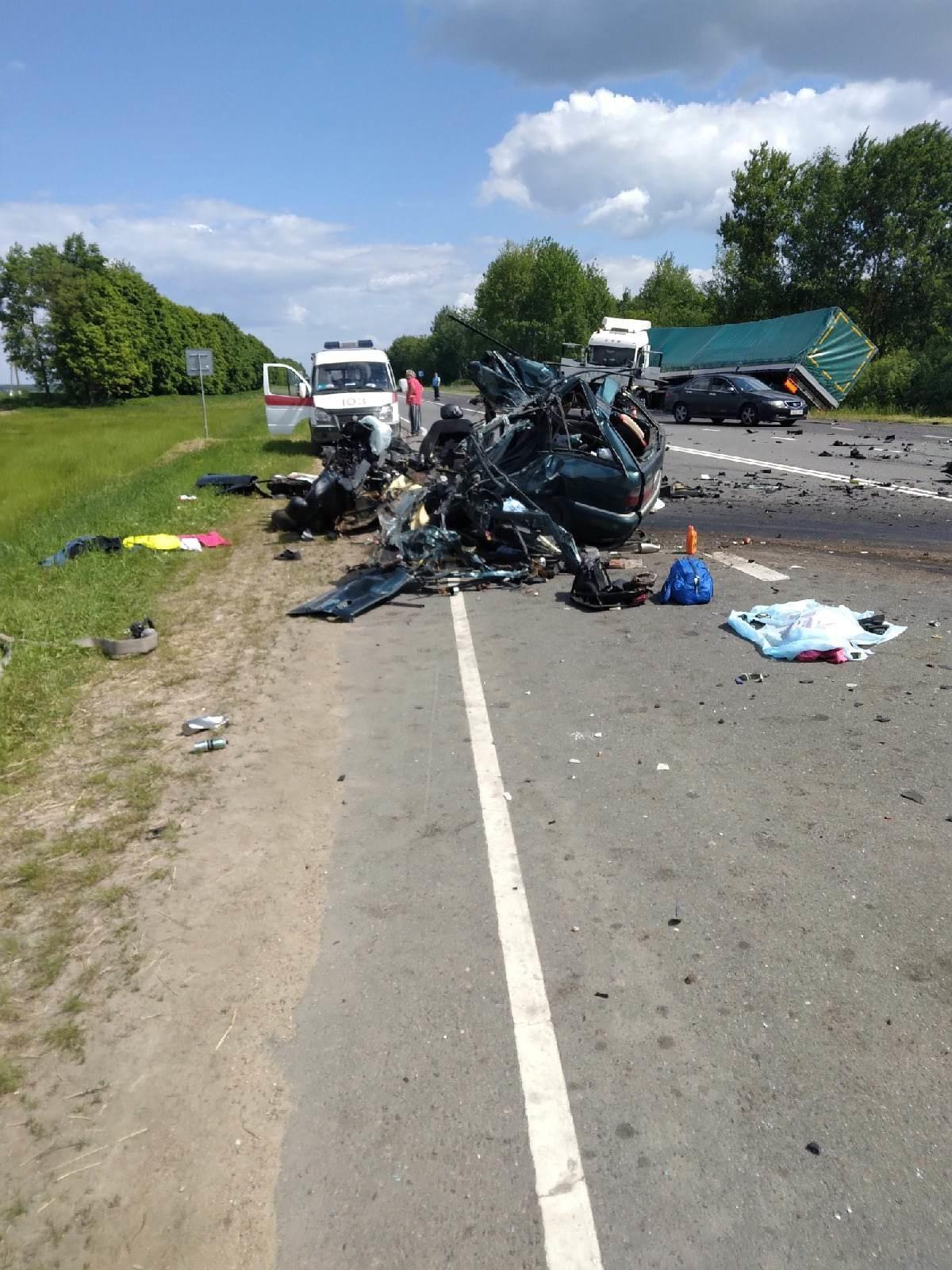 Страшная авария на Чаусской трассе: четверо погибших, среди них — ребенок