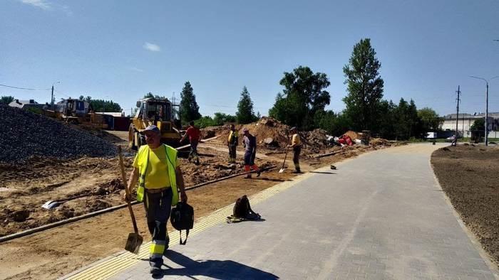 Новый участок проспекта Строителей готовится к открытию