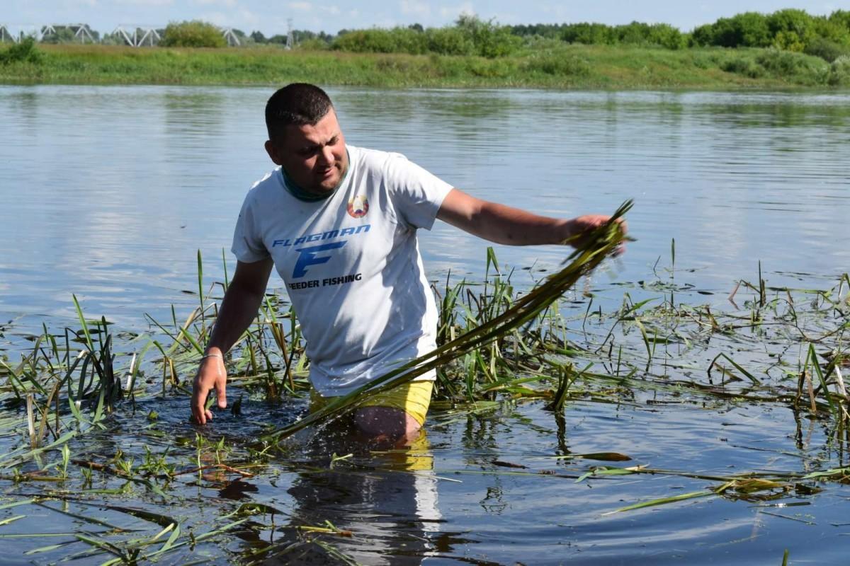 В Бобруйском районе прошло открытое первенство по лову рыбы фидером