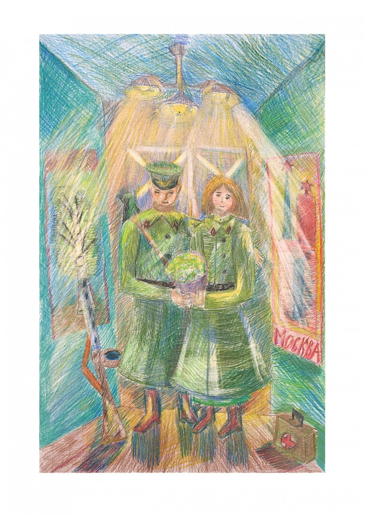 Подведены итоги голосования за лучший рисунок на выставке «Наследники Великой Победы»