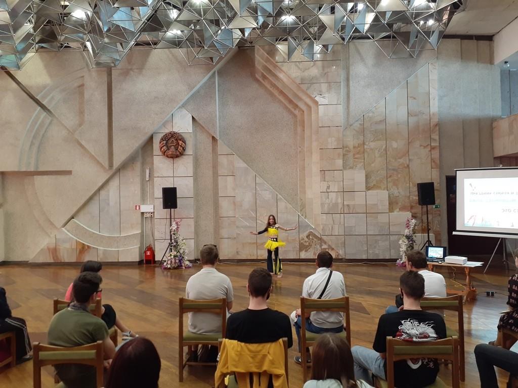 Праздник спорта и здоровья для учащейся молодёжи прошёл во Дворце искусств