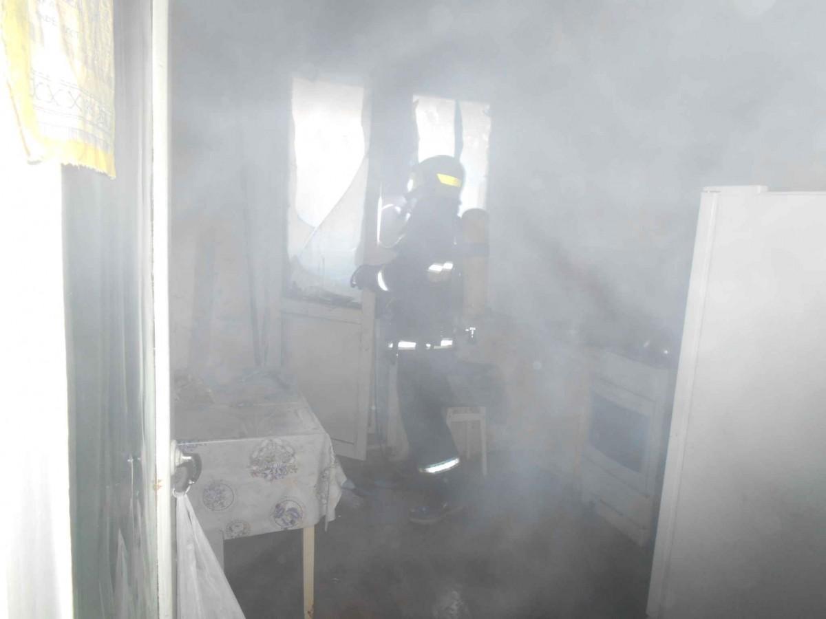 В Бобруйске на Ульяновской горела квартира