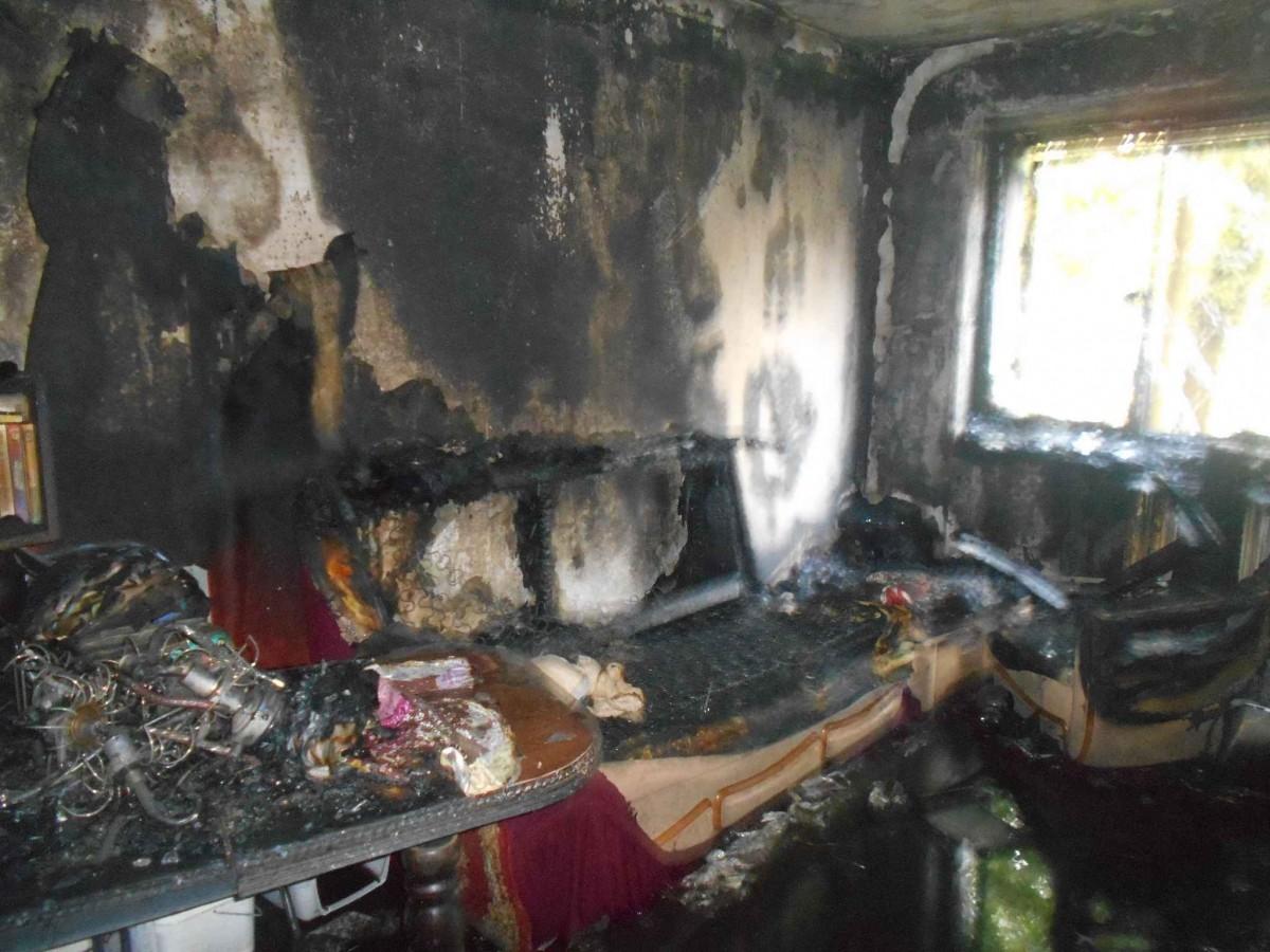 В Бобруйске на Крылова горела квартира
