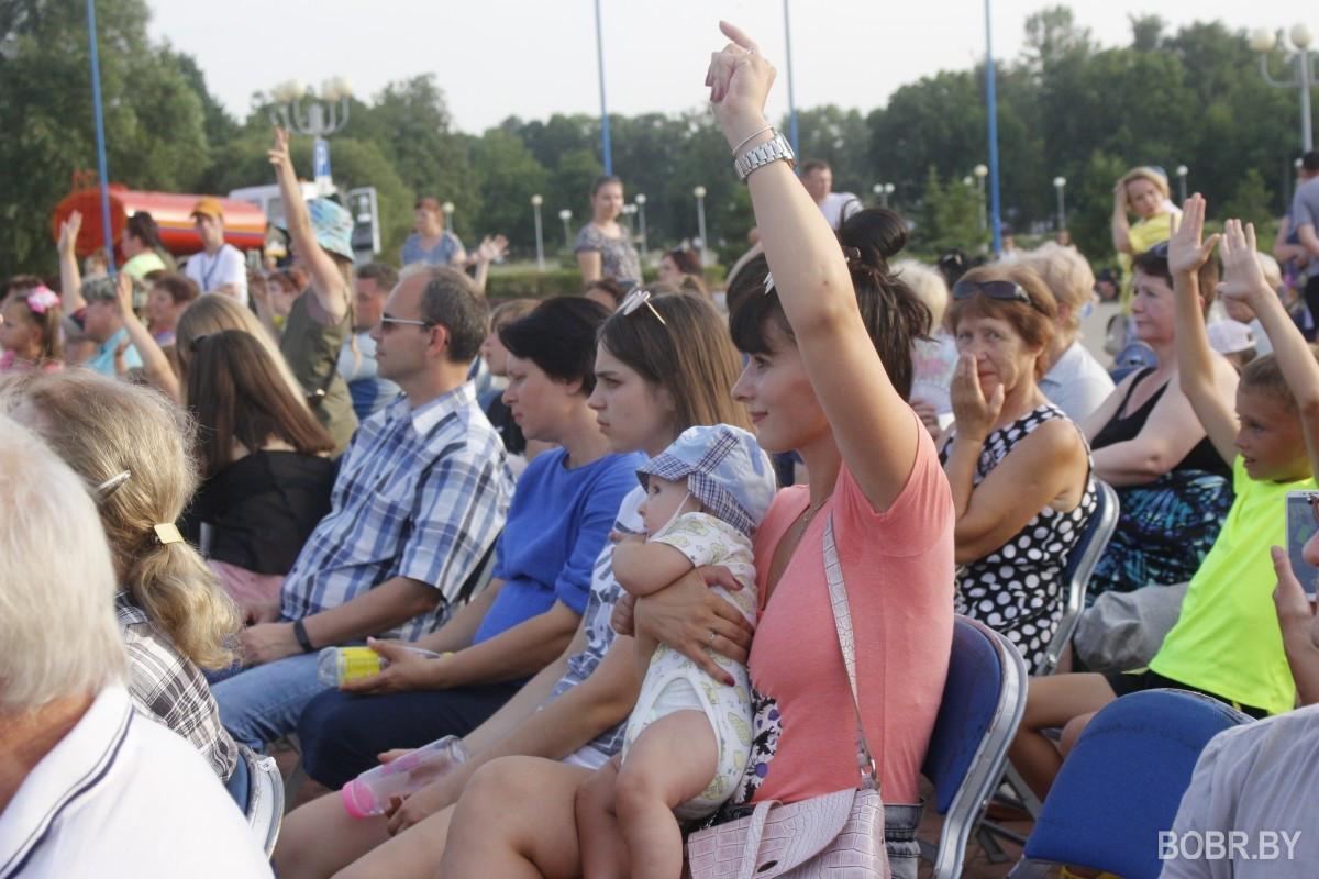 В Бобруйске состоялся заключительный концерт культурно-спортивного фестиваля