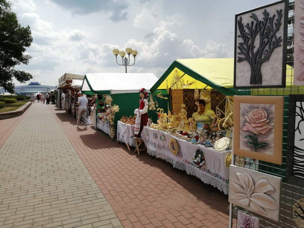 Региональные бренды презентовали ремесленники Бобруйска