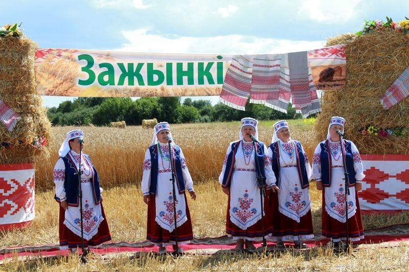 """У ААТ """"Неўскі-Агра"""" адсвяткавалі раённае свята """"Зажынкі"""""""
