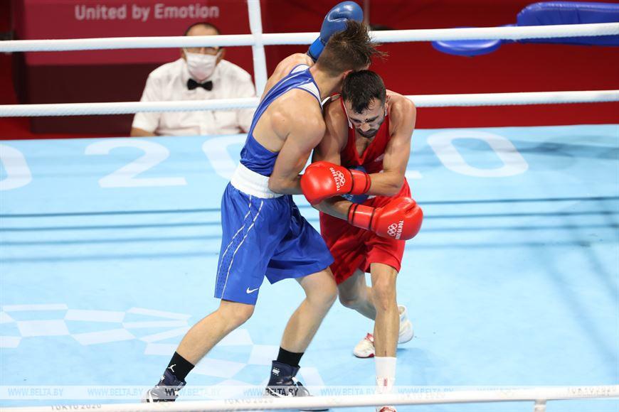 Бобруйский боксер Александр Радионов одержал победу в стартовом бою олимпийского турнира