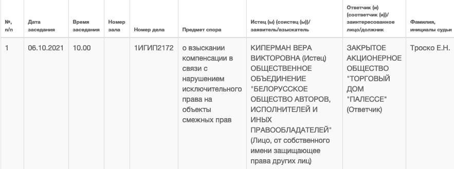 Вера Брежнева будет судиться с «Палессем». Из-за чего?
