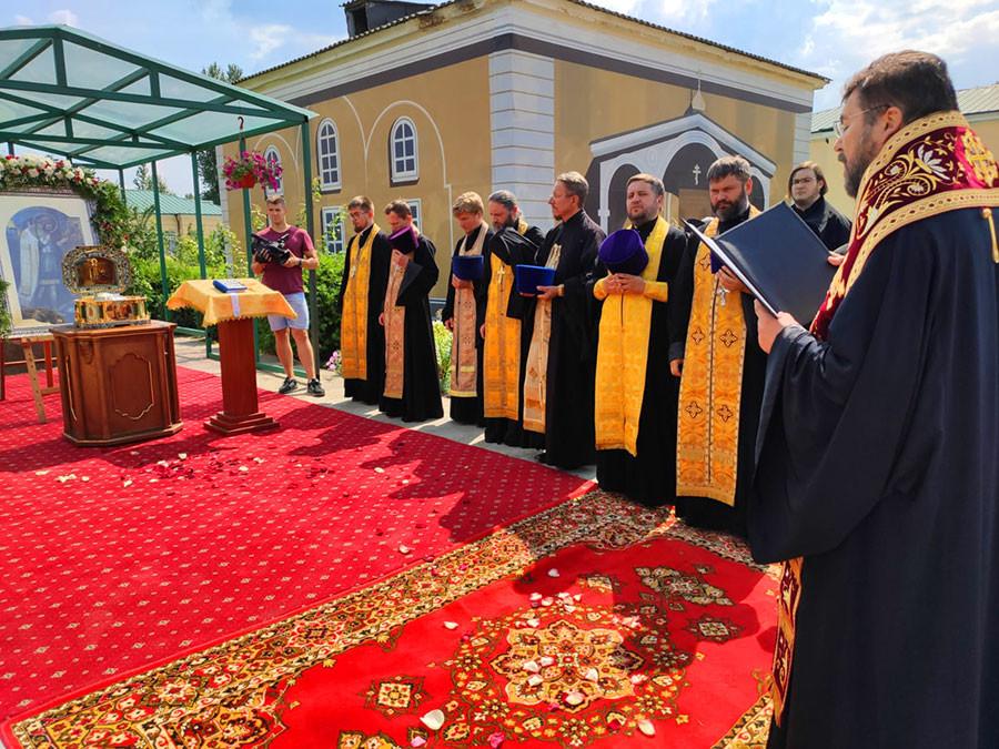 Ковчег с частицей мощей святого благоверного князя Александра Невского прибыл в Бобруйскую епархию