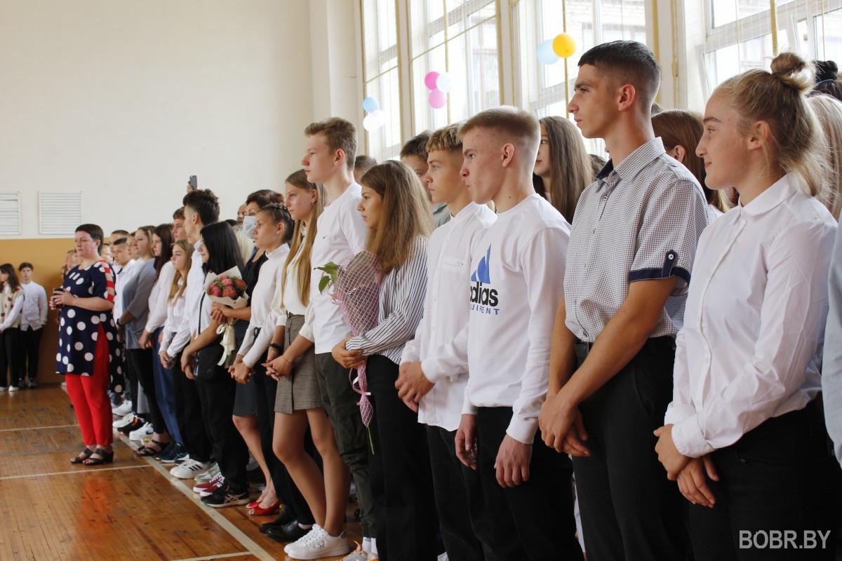 С первым сентября в училище олимпийского резерва  пришла поздравить серебряный призер Токио Ирина Курочкина