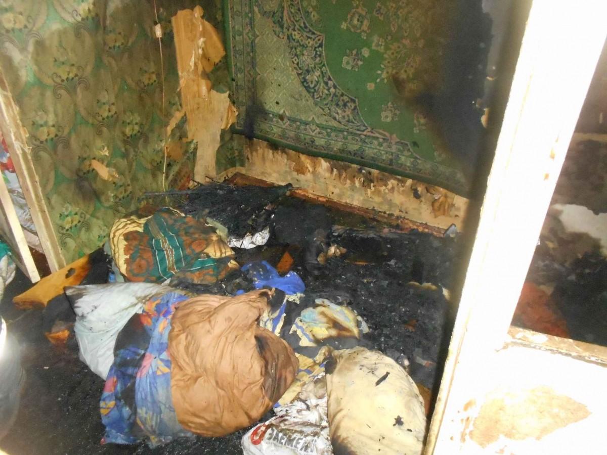 От пожара на Октябрьской в Бобруйске погибла женщина