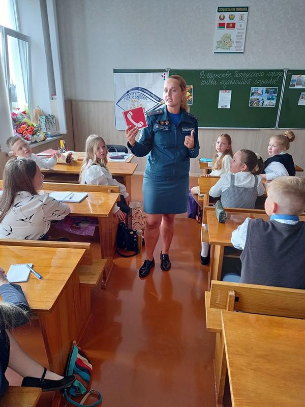 Уроки безопасности прошли в школах Бобруйска