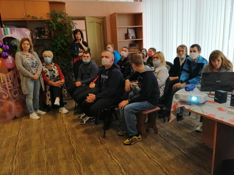 День открытых дверей в отделении дневного пребывания для инвалидов