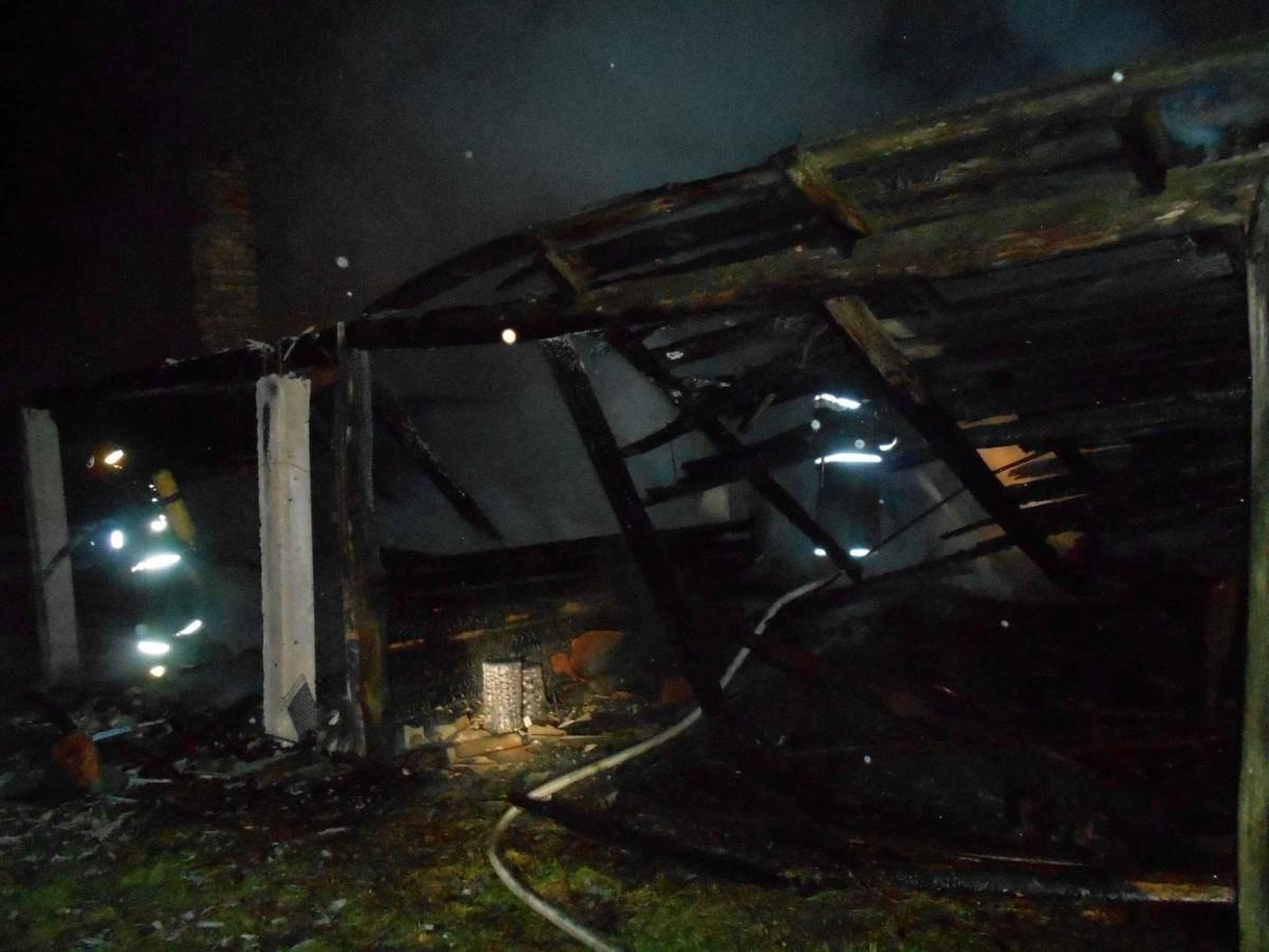 Пожар в Панкратовичах