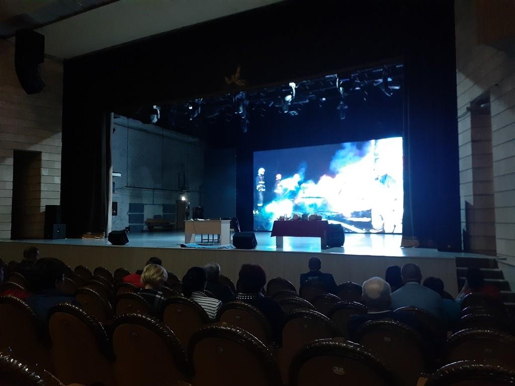 Во Дворце искусств прошли мероприятия в рамках второго этапа Единого республиканского дня безопасности.