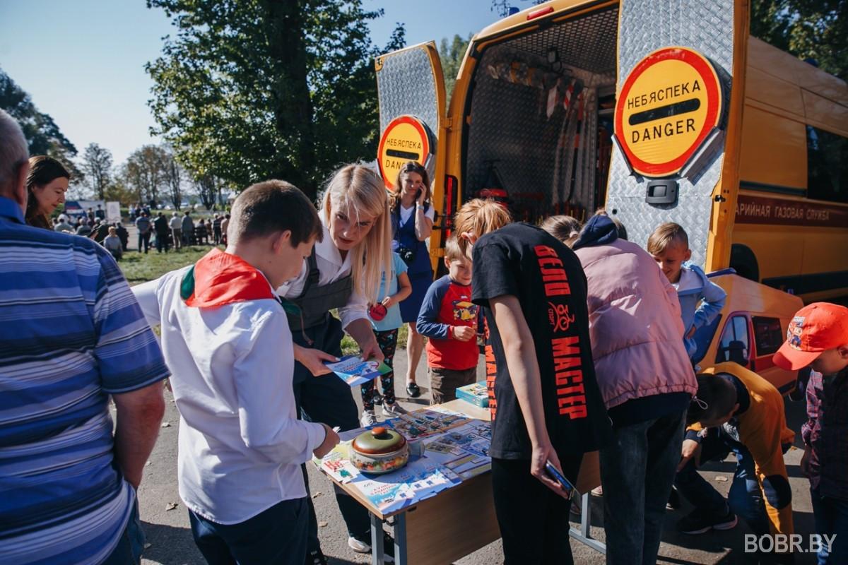 В Бобруйске отметили День танкиста. Как это было - смотрите в нашем фоторепортаже