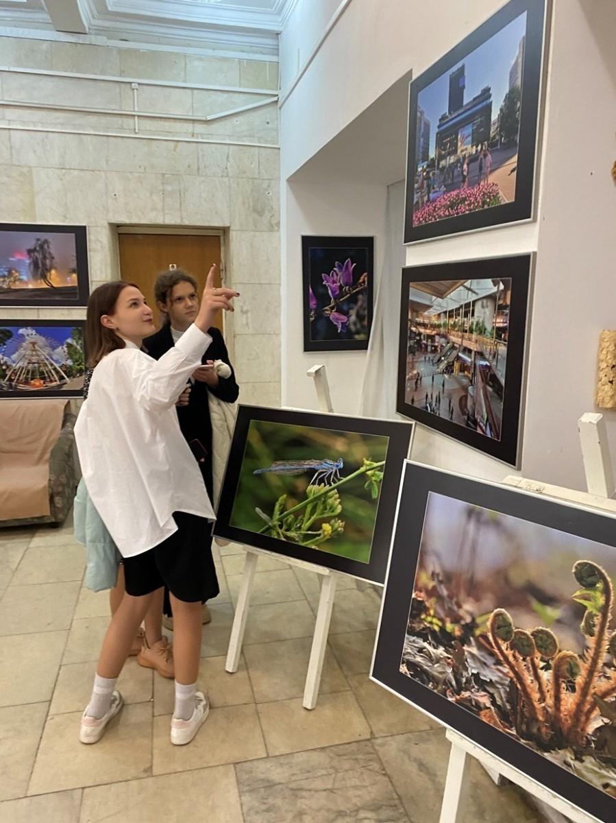 Состоялось открытие персональной фотовыставки «Краіна любая мая»