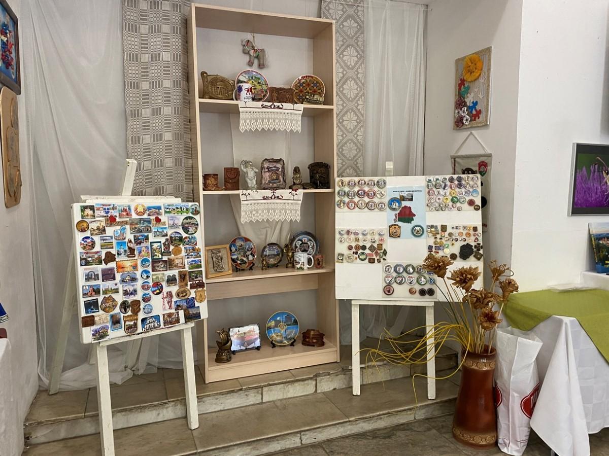 В Бобруйске открылась выставка сувениров «Моя и твоя – наша Беларусь»