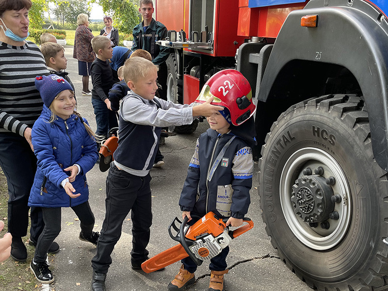Сельский сходи и  ярмарка безопасности в  Бобруйском районе