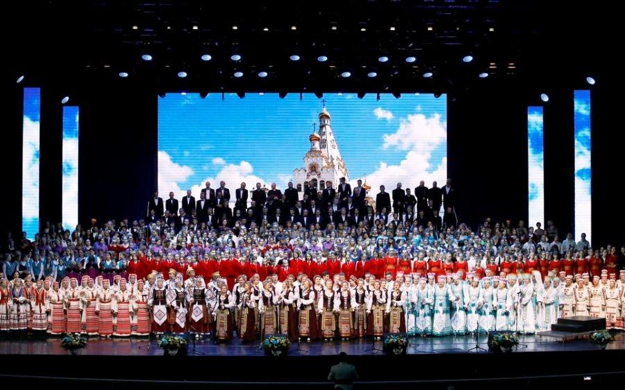 Народный хор Дворца искусств принял участие в акции «Хоровое вече»