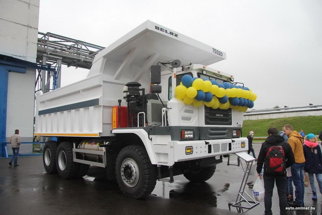 БелАЗ будет собирать китайские самосвалы. В Жодино представили новую модель