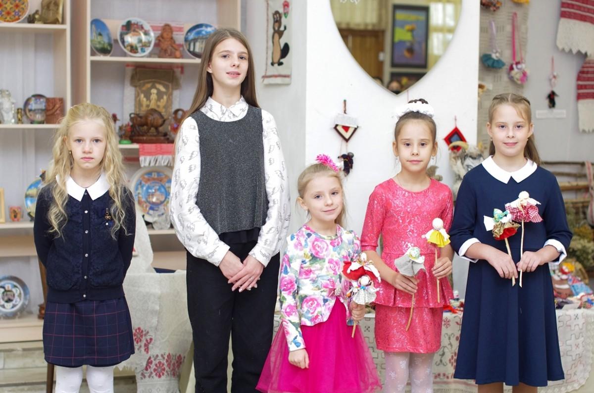 Открытие выставки «Традыцыйная  лялька – бязмежная народная мудрасць».