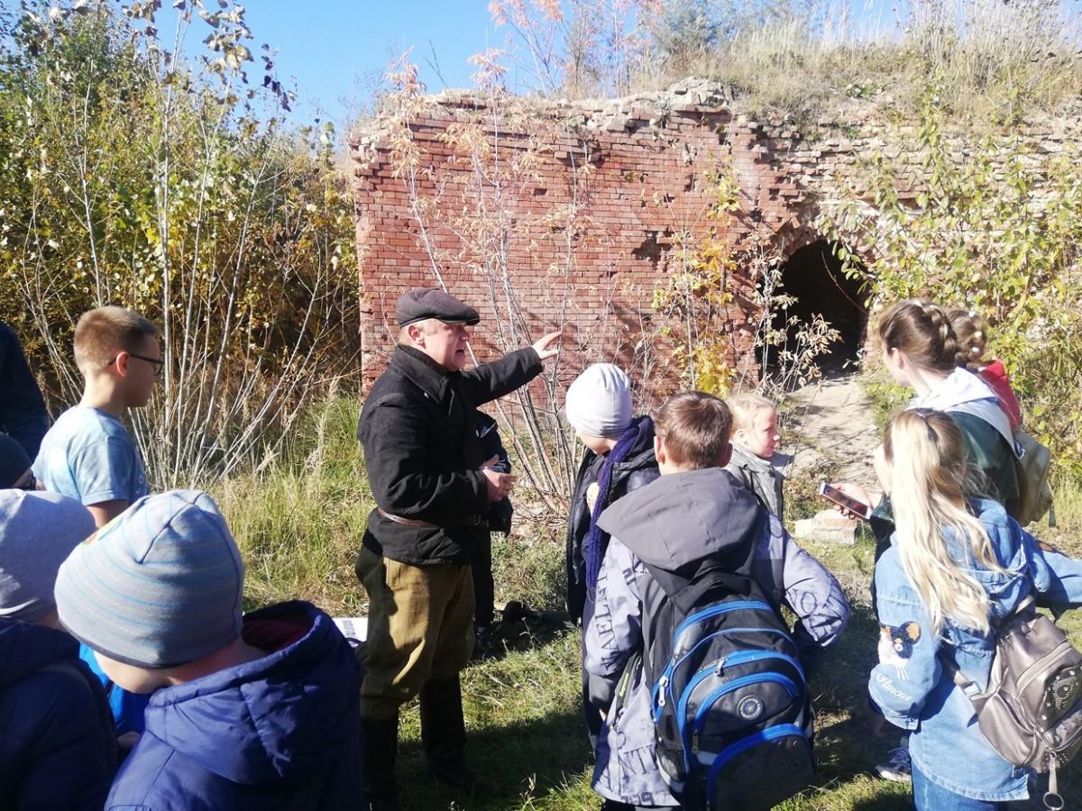 На территории Бобруйской крепости прошел исторический театрализованный квест «Побег из крепости»