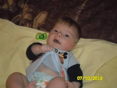 № 7 Глебушка 7 месяцев