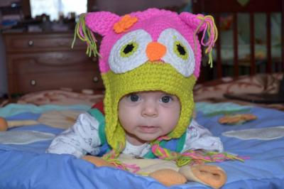 №71 наше маленькое счастье,  Есения 3 месяца