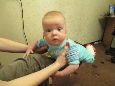 №82 Егорка, 4 месяца