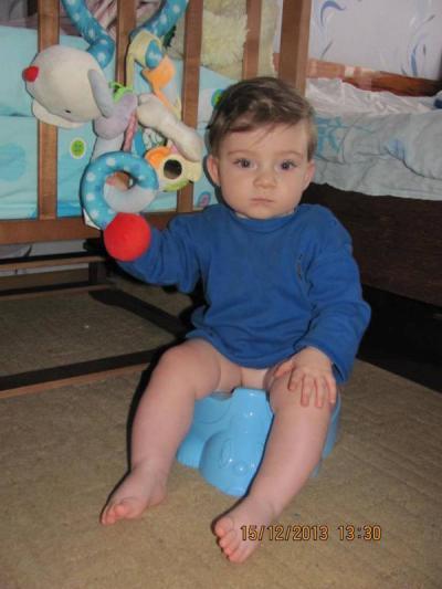 №101 Глебушка, 11 месяцев
