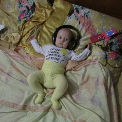 №141 любимая доченька Анжелика,5 месяцев