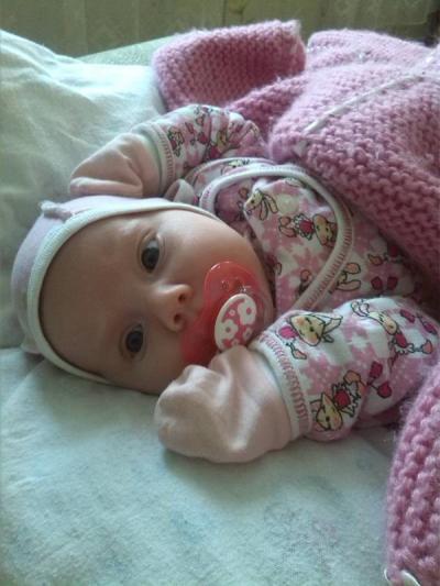 №148 Наша самая любимая доченька Полиночка)))) 2 месяца!!!!