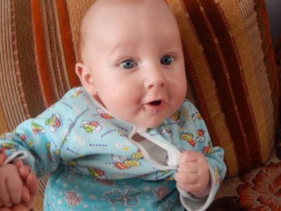 №151 Наш любимый сынок Маркушка 4 месяца.