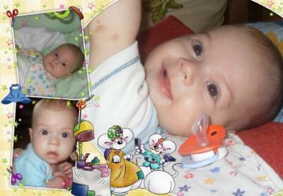№153 Захар Русланович, 7 месяцев