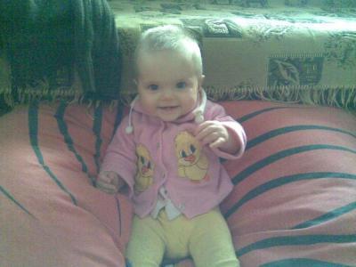 №161 Доця Анюта  8 месяцев